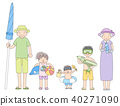 ปู่ย่าตายายและลูกหลาน 40271090