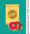 vector, donut, sweet 40273152