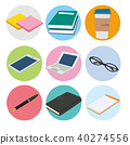 business, white background, icon 40274556