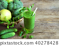 smoothie, green, healthy 40278428