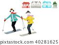 스키 여행 온 커플 40281625