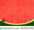 พื้นหลัง - แตงโม - ด้วง 40282396