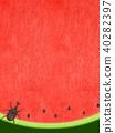 พื้นหลัง - แตงโม - ด้วง 40282397