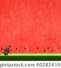 西瓜 水果 牙买加犀金龟 40282410