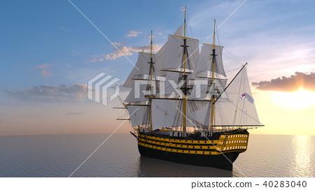水手 帆船 海 40283040