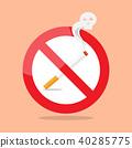 icon, no, sign 40285775
