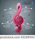 clef treble icon 40286482