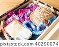 가방 여름 여행 해외 여행 여름 방학 40290074