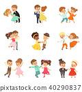 卡通 舞 舞蹈 40290837