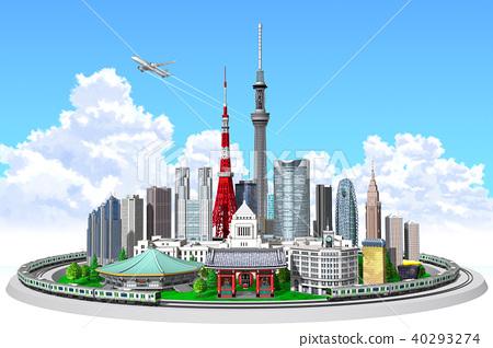 cityscape, city, tokyo 40293274