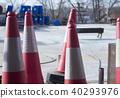 Traffic cones bollards equipment 40293976