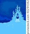 Ice Castle Background Illustration 40294362
