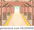 Barn Interior Illustration 40294606