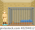 Sheriff Jail Old Museum Illustration 40294612