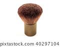 Small foundation make up brush isolated on white 40297104