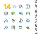 design, icon, set 40298416