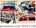 vintage transport retro car. 40301148