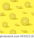 fruit lemon yellow 40302216
