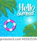 ออกแบบ,โปสเตอร์,ฤดูร้อน 40302530