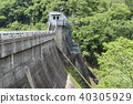 新鮮的綠色長模式水壩 40305929