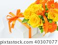 선물 및 장미 선물 준비 40307077