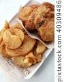 후라이드 치킨, 프라이드 치킨, 닭 튀김 40309486