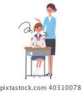 女学生学习 40310078