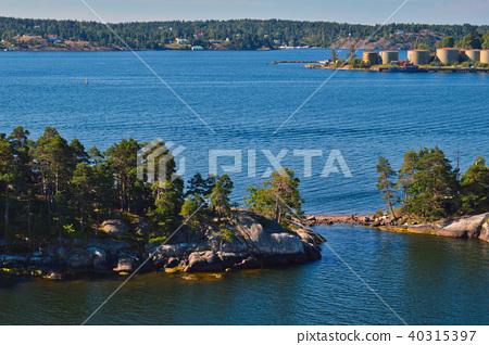 Islets of Stockholm Archipelago in Sweden 40315397