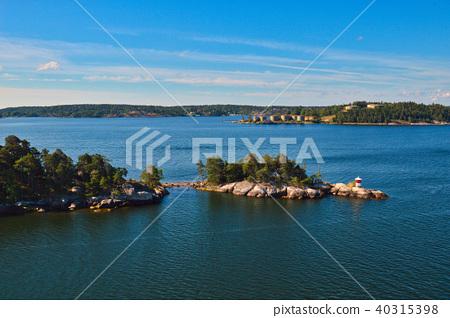 Islets of Stockholm Archipelago in Sweden 40315398