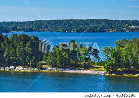 Islets of Stockholm Archipelago in Sweden 40315399