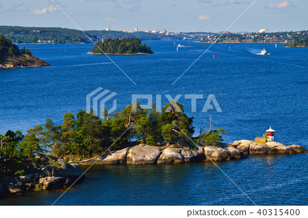 Islets of Stockholm Archipelago in Sweden 40315400