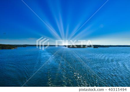 Baltic Sea at Stockholm Archipelago, Sweden 40315494
