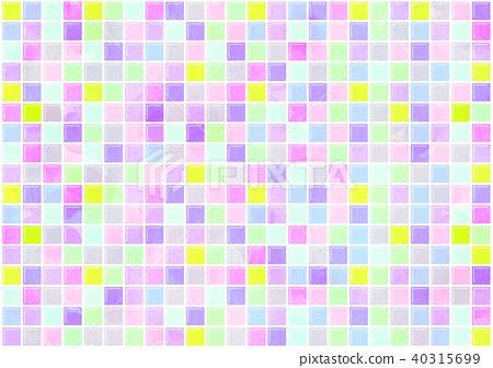Tile colorful texture - Stock Illustration [40315699] - PIXTA