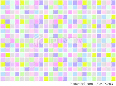 Tile colorful texture - Stock Illustration [40315703] - PIXTA