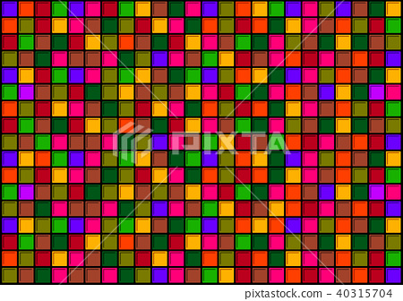 Tile colorful texture - Stock Illustration [40315704] - PIXTA