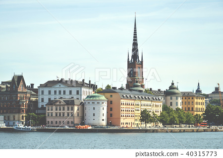 Stockholm old town in Gamla Stan, Sweden 40315773