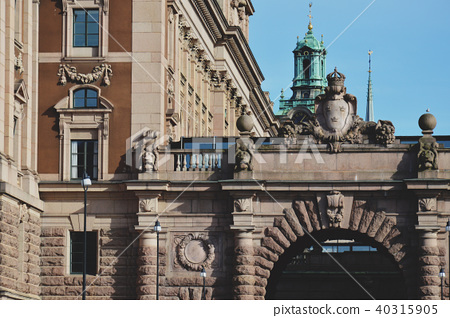 The Parliament House of Sweden in Stockholm 40315905