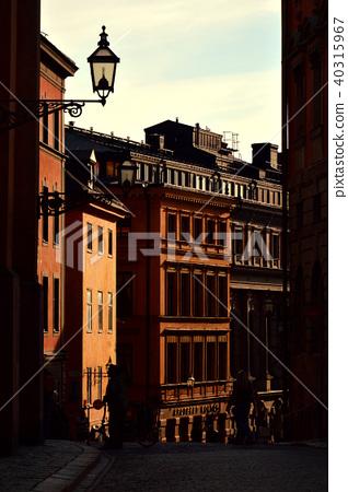 Historic buildings, Gamla Stan, Stockholm, Sweden 40315967