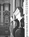 Historic buildings, Gamla Stan, Stockholm, Sweden 40315969