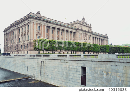 The Parliament House of Sweden in Stockholm 40316028