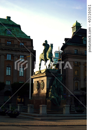 Statue of King Gustav II Adolf, Stockholm, Sweden 40316061