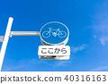 สัญลักษณ์,จักรยาน,จักรยานยนต์ขับขี่ 40316163