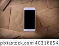 스마트폰, 편지, 많다 40316854