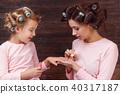 mother, daughter, mum 40317187