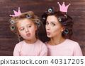 mother, daughter, mum 40317205