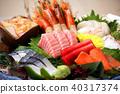 日本料理生鱼片拼盘 40317374
