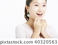 女性肖像系列面部表情 40320563