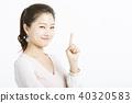 女性肖像系列手標誌 40320583