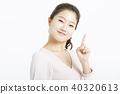 女性肖像系列手標誌 40320613