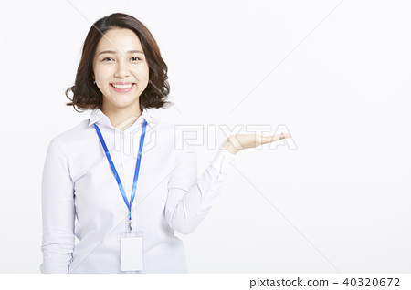 女人肖像系列业务 40320672